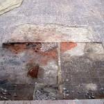 Badania archeologiczne w 2007 r. Odsłanianie fundamentów wieży