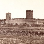 Pierwsze zdjecie zamku 1870 r.